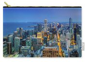 360chicago Rivers Begin To Glow - Skyline Panorama Carry-all Pouch