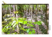 cypress forest and swamp of Congaree National Park in South Caro Carry-all Pouch