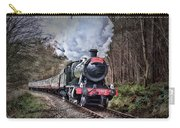 3802 Mince Pie Special On The Llangollen Line. Carry-all Pouch