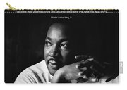 39- Martin Luther King Jr. Carry-all Pouch by Joseph Keane