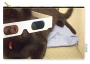 3d Cat Carry-all Pouch