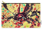 3d Color Dragon Carry-all Pouch