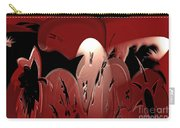 3d Red Abstract Carry-all Pouch