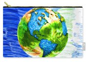 3d Render Of Planet Earth 11 Carry-all Pouch