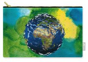 3d Render Of Planet Earth 14 Carry-all Pouch
