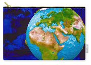 3d Render Of Planet Earth 6 Carry-all Pouch