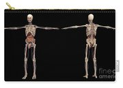 3d Rendering Of Human Skeleton Carry-all Pouch