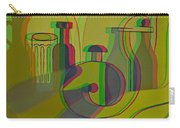 3d Stereo Cubism - Use Red-cyan 3d Glasses Carry-all Pouch