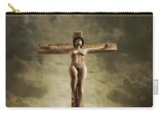 3d Sky Crucifix Carry-all Pouch