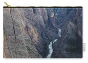 3d10307 Narrows View On North Rim  Carry-all Pouch