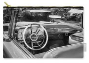 1959 Lincoln Continental Town Car Mk Iv Painted Bw Carry-all Pouch