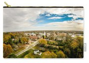 Aerial View Over White Rose City York Soth Carolina Carry-all Pouch