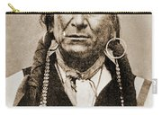 American Indian Chief Carry-all Pouch