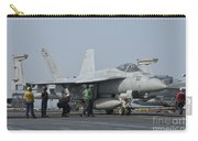 An Fa-18f Super Hornet On The Flight Carry-all Pouch