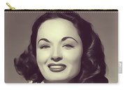Ann Blyth, Vintage Actress Carry-all Pouch