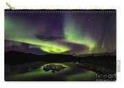 Aurora Borealis Over Iceland Carry-all Pouch
