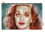 Bette Davis Vintage Hollywood Actress Carry-all Pouch