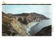 Bixby Creek Bridge Big Sur Photo By Pat Hathaway Carry-all Pouch