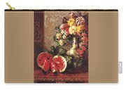 bs- George Henry Hall- Still Life George Henry Hall Carry-all Pouch