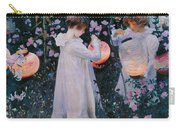 Carnation Lily Lily Rose Carry-all Pouch