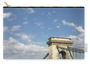 Chain Bridge On Danube River Budapest Carry-all Pouch