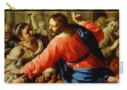 Christ Cleansing The Temple Carry-all Pouch