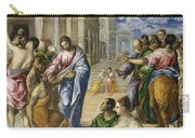 Christ Healing The Blind Carry-all Pouch