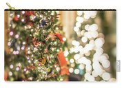 Christmas Tree And Decorations With Shallow Depth Of Field Carry-all Pouch