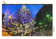 Christmas Tree Near Panther Stadium In Charlotte North Carolina Carry-all Pouch