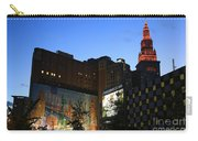 Terminal Tower And Sherwin Williams Building In Cleveland, Ohio, Usa Carry-all Pouch