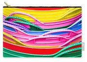 Colorful Plastic Carry-all Pouch