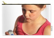 Diabetic Child With Blood Glucose Tester Carry-all Pouch
