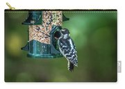 Downy Woodpecker In The Wild Carry-all Pouch