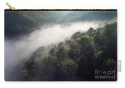 Fantastic Dreamy Sunrise On Foggy Mountains Carry-all Pouch