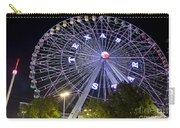 Ferris Wheel At The Texas State Fair In Dallas Tx Carry-all Pouch