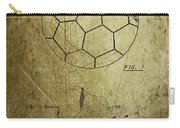 Football Patent Carry-all Pouch