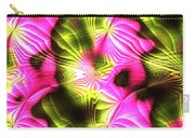 Fractal Modern Art Seamless Generated Texture Carry-all Pouch