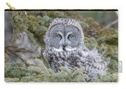 Great Gray Owl Carry-all Pouch