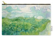 Green Wheat Fields, Auvers Carry-all Pouch