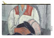 Gypsy Woman With Baby Carry-all Pouch
