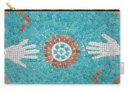Hans Mosaic Carry-all Pouch