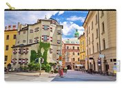 Historic Street Of Innsbruck View Carry-all Pouch