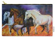4 Horses Of The Apocalypse Carry-all Pouch