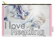I Love Reading Books Carry-all Pouch