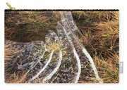 4. Ice Prismatics In Grass 1, Loch Tulla,  Carry-all Pouch