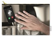 Incoming Call Cellphone Next To Bed Carry-all Pouch