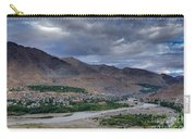 Indus River And Kargil City Leh Ladakh Jammu Kashmir India Carry-all Pouch