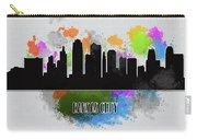 Kansas City Skyline Silhouette Carry-all Pouch
