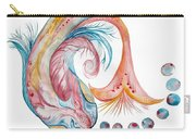 Koi Fish-watercolor Carry-all Pouch
