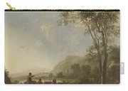 Landscape With Herdsmen And Cattle Carry-all Pouch